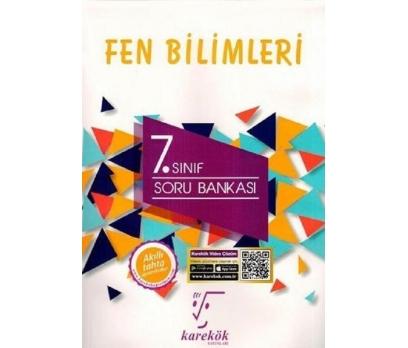 KAREKÖK YAYINLARI 7.SINIF FEN BİLİMLERİ SORU BANKA 1