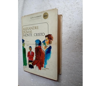MONTE CRISTO 2 Alexandre Dumas ALTIN KİTAPLAR