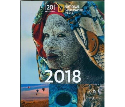 NATIONAL GEOGRAPHIC İSPANYA 20. YIL AJANDASI 2018