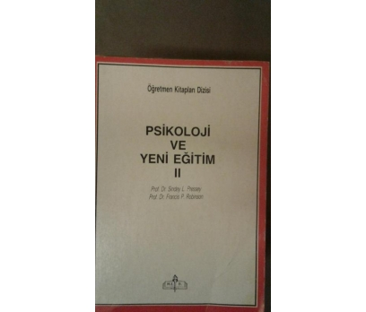 PSİKOLOJİ VE YENİ EĞİTİM - II.cilt  PROF.DR. SINDE