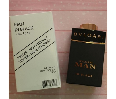 TESTER BVLGARİ MAN İN BLACK EDT 100 ML