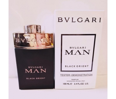 TESTER BVLGARİ MAN İN BLACK ORİENT EDP 100 ML