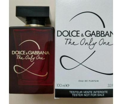 TESTER DOLCE GABBANA THE ONLY ONE 2  EDP 100  ML