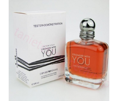 TESTER EMPORİO STRONGER WİTH YOU İNTENSELY EDT 100