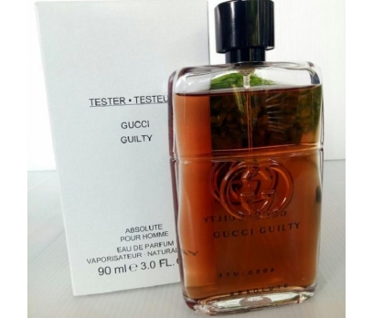TESTER GUCCİ GUİLTY ABSOLUTE HOMME EDP 100 ML
