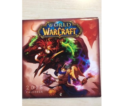 WORLD OF WARCRAFT CALENDAR 2015 TAKVİMİ