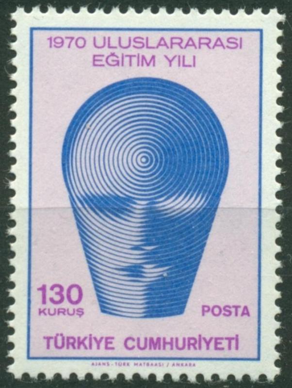 1970 DAMGASIZ ULUSLARARASI EĞİTİM YILI SERİSİ 1