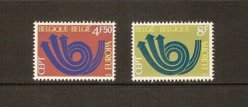1973  BELÇİKA  EUROPA-CEPT TAM SERİ  (MNH) 1
