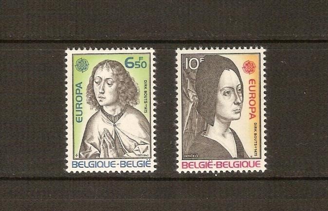 1975  BELÇİKA  EUROPA-CEPT TAM SERİ  (MNH) 1