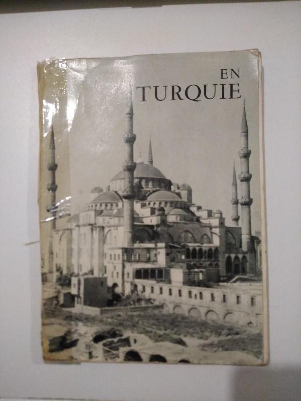 EN TURQUIE ALBERT GABRIEL 1953 1