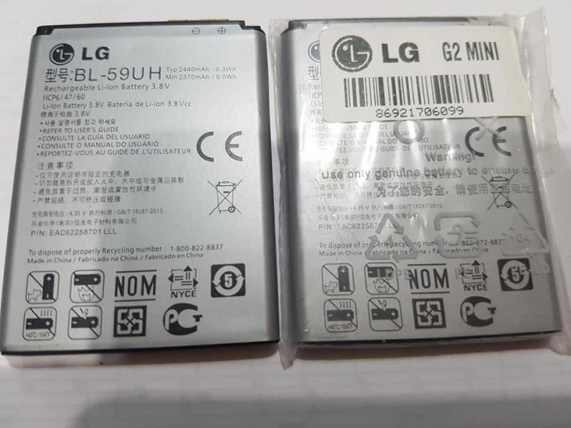 LG G2 MİNİ %100 ORJİNAL SIFIR BATARYA 1