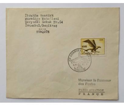 1959  İSTANBUL - PARİS İLK UÇUŞ CARAVELLE 1