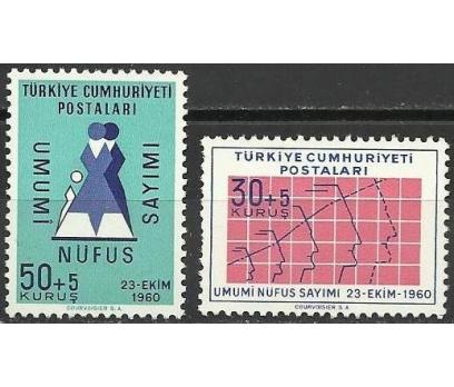 1960 DAMGASIZ NÜFUS SAYIMI  SERİSİ