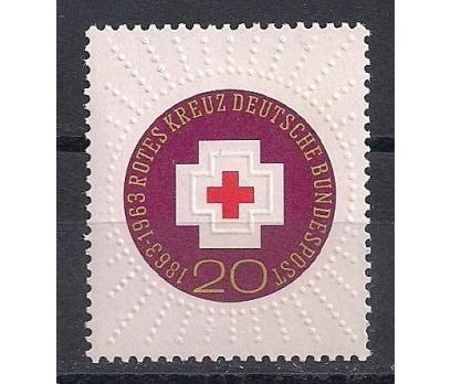 1963 Almanya Kızıl Haç Kabartma Damgasız**