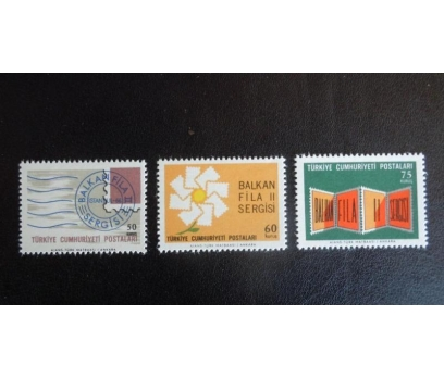 1966 BALKANFİLA II  SERGİSİ TAM SERİ (MNH)