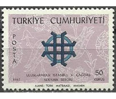 1967 DAMGASIZ ULUSLARARASI SERAMİK SERGİSİ  SERİSİ