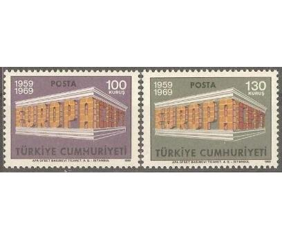1969  DAMGASIZ AVRUPA CEPT SERİSİ
