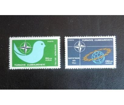 1969 NATO NUN 20. YILI TAM SERİ (MNH)