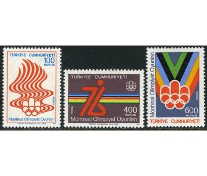 1976  DAMGASIZ MONTREAL OLİMPİYATLARI  SERİSİ