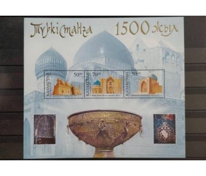 2000 TÜRKİYE - KAZAKİSTAN ORTAK KAZAK BLOK  (MNH)