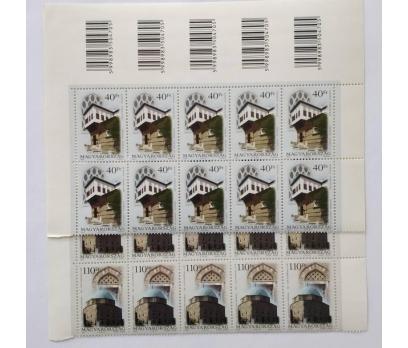 2002 TÜRK-MACAR ORTAK MACAR 10 TAM SERİ  (MNH)