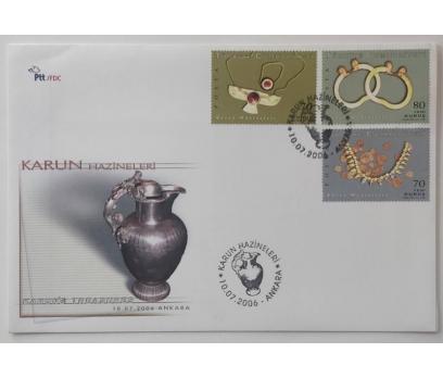 2006 KARUN HAZİNELERİ   F.D.C.