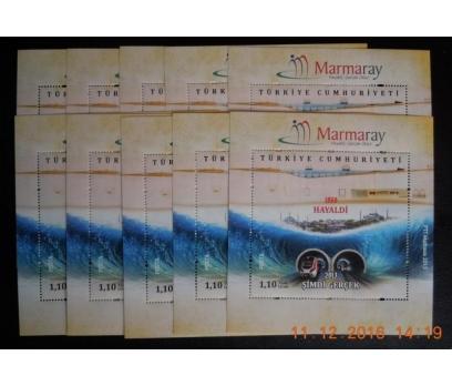 2013 MARMARAY HAYALDİ GER. OL. 10  BLOK-120  (MNH)