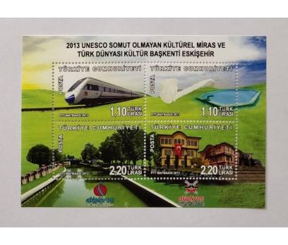 2013 UNESCO KÜLTÜREL MİRAS (MNH)