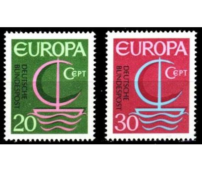 ALMANYA (BATI) 1966 DAMGASIZ AVRUPA CEPT SERİSİ 1