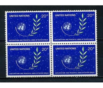 BM  ABD ** 1982 TAM SERİ DÖRTLÜ BLOK SÜPER