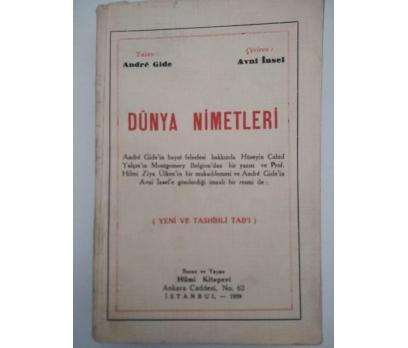 DÜNYA NİMETLERİ - ANDRE GIDE (1939)