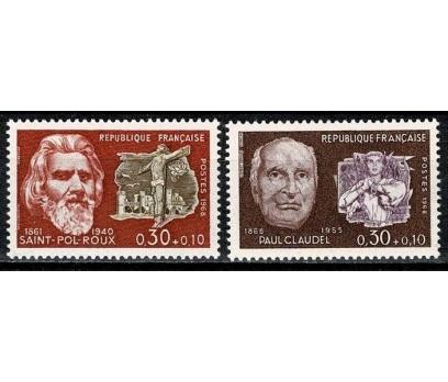 FRANSA 1968 DAMGASIZ ÜNLÜLER SERİSİ II 1