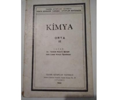 KİMYA ORTA III (1944)