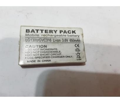 LG 1300,B1300,GVC316 %100 ORJİNAL BATARYA