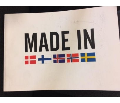 MADE IN NORDIC COUNTRIES 2012 DENMARK FINLAND