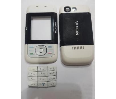 NOKİA 5200 Orjinal komple kapak+Tuş+Hızlı Kargo