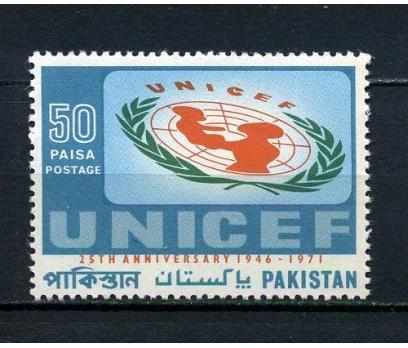 PAKİSTAN ** 1971 UNICEF 25.YIL TAM SERİ (110715)