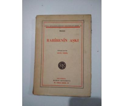 RAHİBENİN AŞKI BALZAC 1947