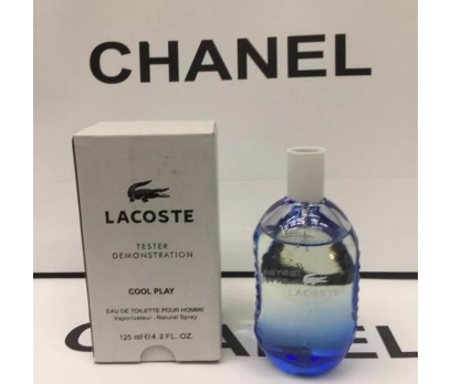TESTER LACOSTE COOL PLAY EDT 125 ML