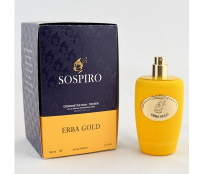 TESTER SOSPİRO ERBA GOLD EDP 100 ML