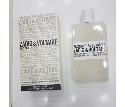 TESTER ZADİG & VOLTAİRE HER EDP 100 ML