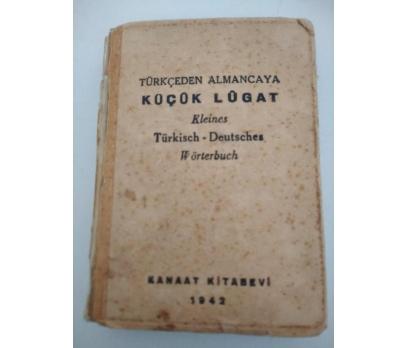TÜRKÇEDEN-ALMANCAYA KÜÇÜK LÜGAT (1942)