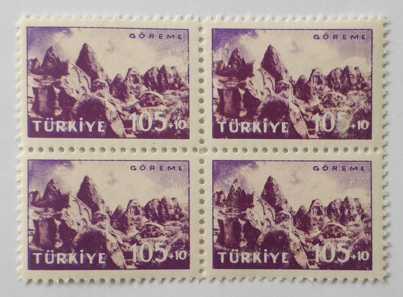 1959 GÖREME TURİSTİK DBL. TAM SERİ (MNH) 1