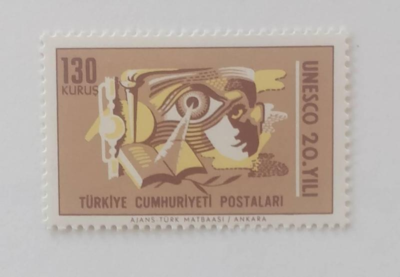 1966 UNESCONUN 20. YILI  TAM SERİ (MNH) 1