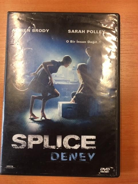 DENEY SPLICE ADRIEN BRODY DVD FİLM 1