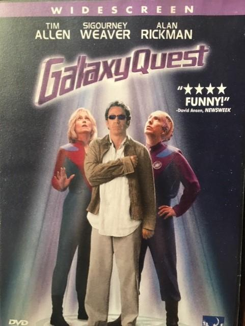 GALAXY QUEST SIGOURNEY WEAVER DVD FİLM 1. BÖLGE 1