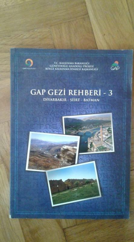 GAP GEZİ REHBERİ - 3 ( DİYARBAKIR, SİİRT, BATMAN ) 1