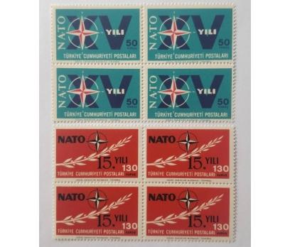 1964 NATONUN 15. YILI DBL.  TAM SERİ (MNH)