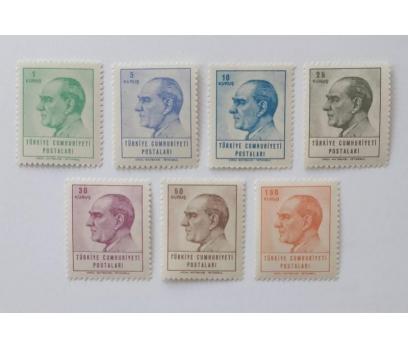 1965 SÜREKLİ SERİ ATA KONULU TAM SERİ (MNH)