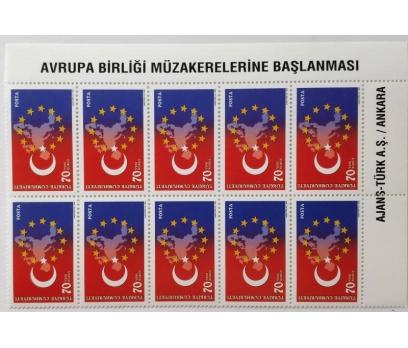 2005 AVRUPA BİRLİĞİ MÜZ. ONLU BLOK TAM SERİ (MNH)